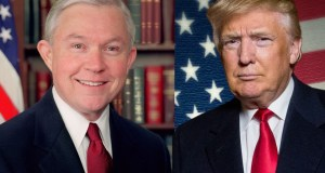 Jeff Sessions with Trump