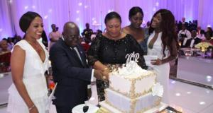 President Akufo-Addo and Rebecca Akufo-Addo's 20th Marriage Anniversary Family Dinner