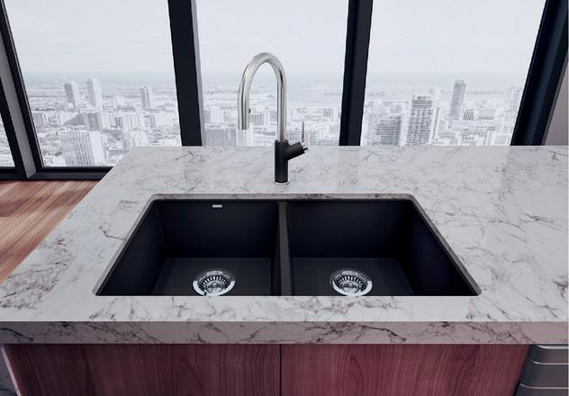 Clean  Blanco Cinder Sink E40