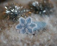 Snowflake-Barrette