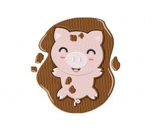 Cute Pink Piggy 5_5 inch