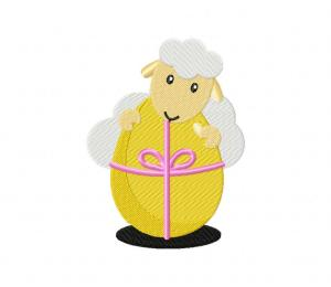 Easter Sheep Egg Gift 5_5 inch