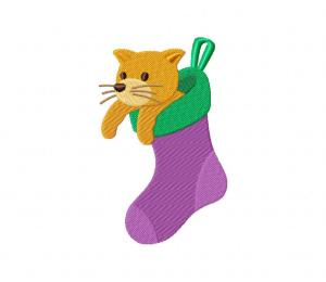 Kitty in Stocking 5_5 inch