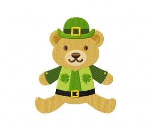 Lucky Teddy Bear 3 5_5 inch