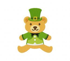 Lucky Teddy Bear 4 5_5 inch