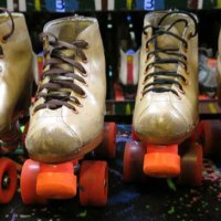 Wonderfully stuck in the 1980s: Golden Skate roller skating rink