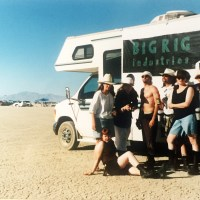 Day One: Bigrig Industries' Camp Hasselhoff at Burning Man 1995
