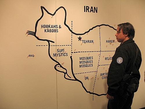 And Iran ... Iran so far away