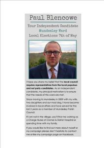 Election Leaflet Cover 1