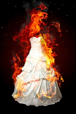 the flaming bride
