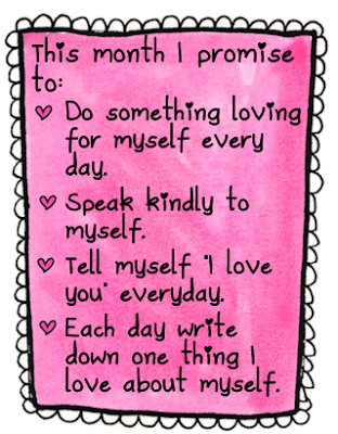 A Month of Self Love