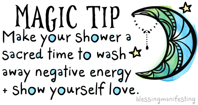 Every Day Magic: Shower It Away