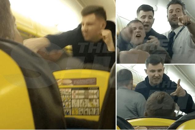 Eine zwölfköpfige Gruppe junger Briten wollte Freitagabend mit einer Maschine der Ryanair von London nach Bratislava reisen. In Berlin war schon Feierabend))) @ SUN