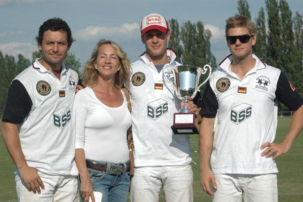 BSS – the winning team des ersten Turniers, Gädeke & Co.!