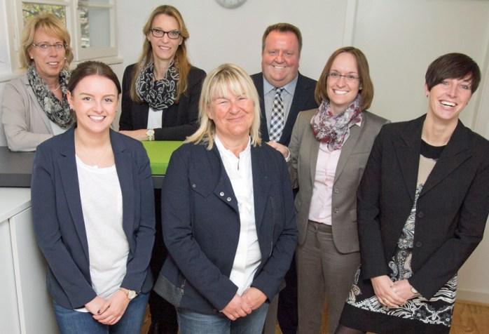 Das Team des Kompetenzzentrums Frau & Beruf Hellweg-Hochsauerland. (Foto: HSK)