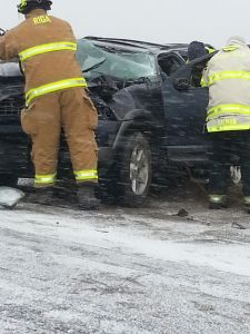 Rollover on Yankee Highway Dec. 26.