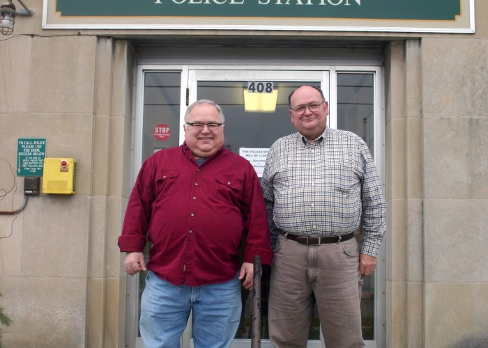Novak, Pooley retire from Blissfield PD