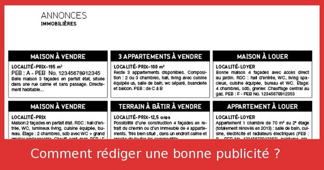 comment rediger une bonne annonce immobiliere pour vendre sa maison blog comment vendre sa. Black Bedroom Furniture Sets. Home Design Ideas