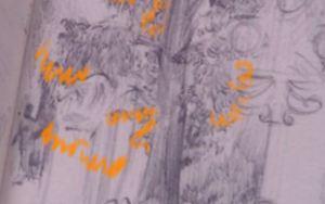 dessiner feuilles