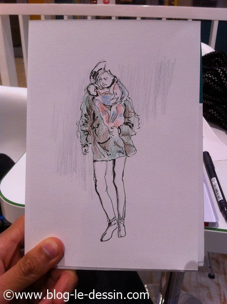 apprendre à dessiner filles 2