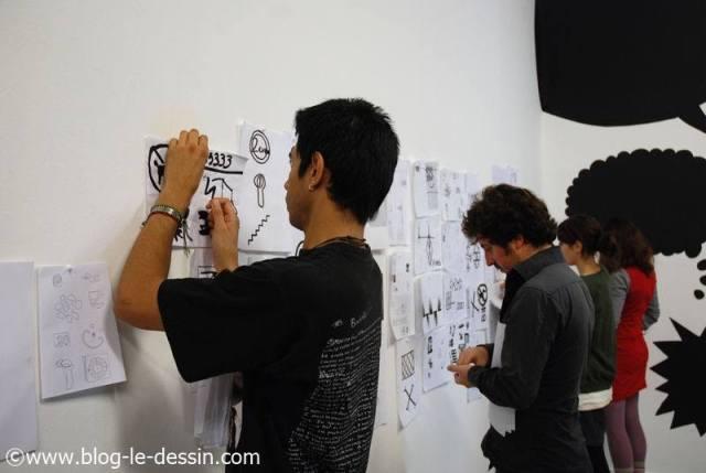 cours de dessin seance