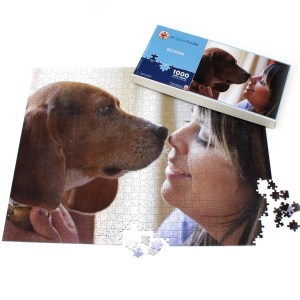 Make your own photo jigsaw