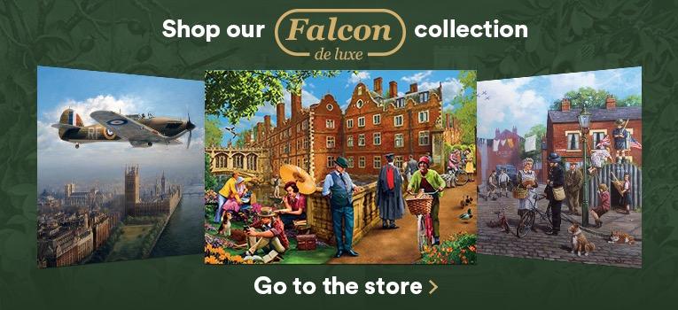 Shop Falcon de Luxe Jigsaw Puzzles