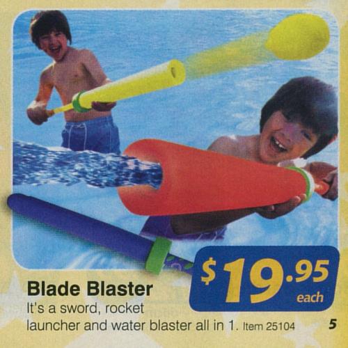 Blade Blaster defies geometry