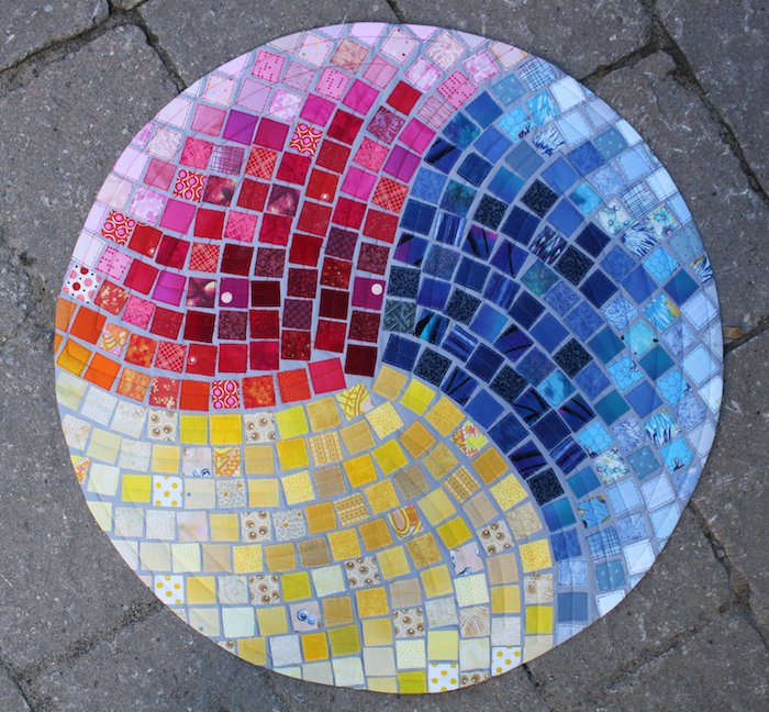 Evolving Mosaic quilted