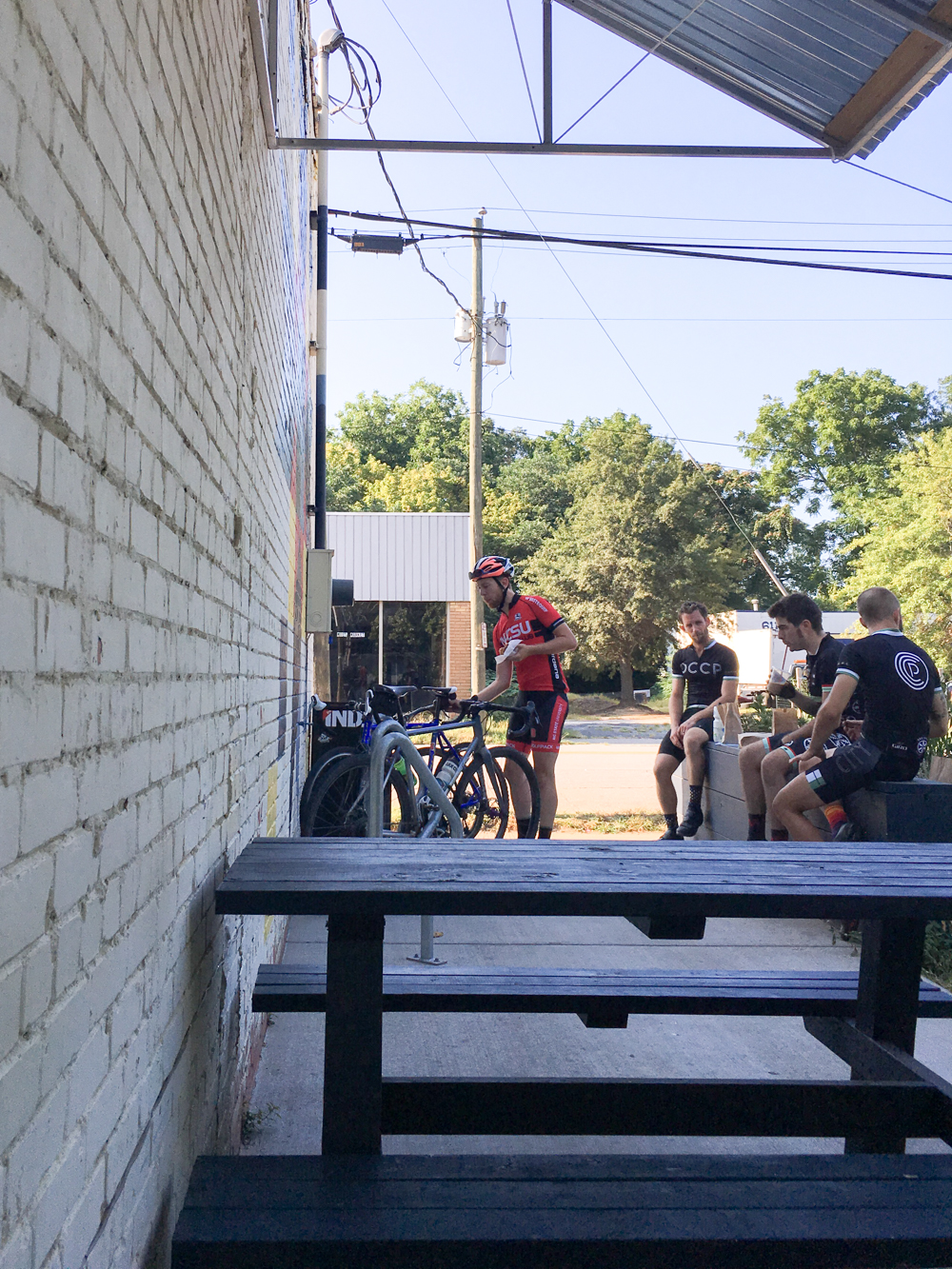 Oak City Cycling at Boulted Bread, Raleigh, NC | Gather Goods Co