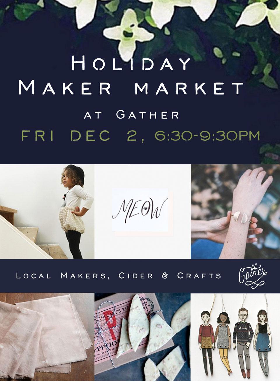 Gather Maker Market