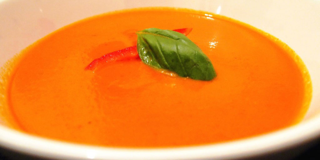 Red Pepper Tomato Soup
