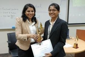 Ms.Deepika Balaji from R.V. College