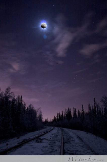 Alaska Lunar Eclipse