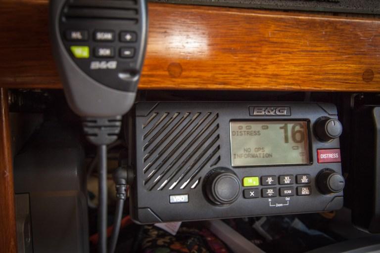 B&G VHF V50 radio