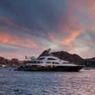 Megayacht in Cabo San Lucas