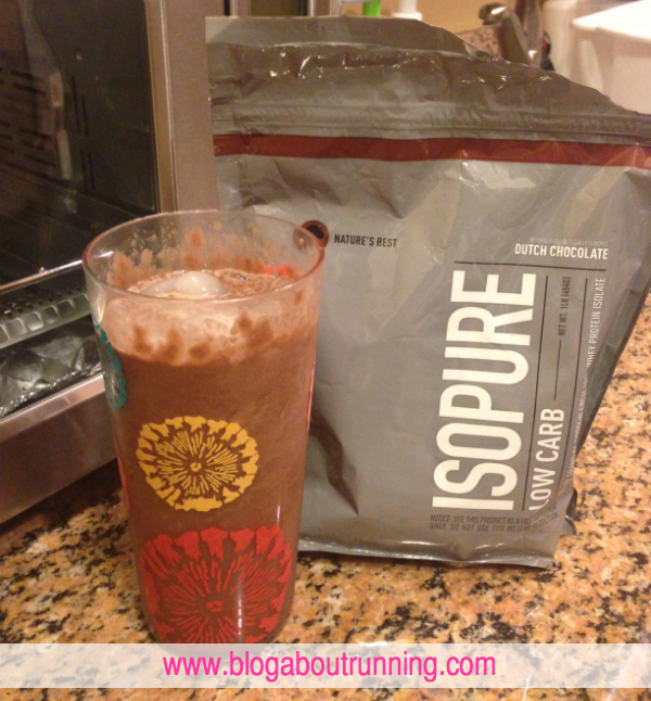When do you take Isopure?
