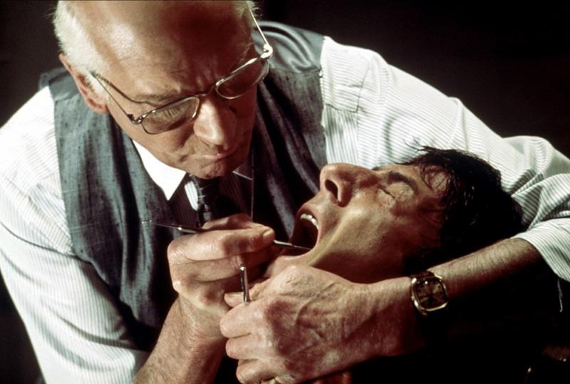 No, no es un típico chequeo dental de rutina, Marathon Man