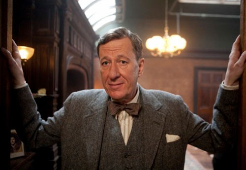 Geoffrey Rush, generoso y sabio secundario en The King's Speech