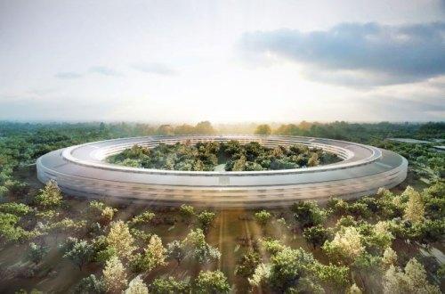 El nuevo, enorme Campus de Apple bien podría haber salido de 2001, A Space Odissey