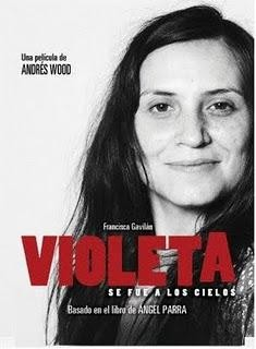 Violeta se fue a buscar su premio