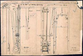 Il brevetto dell'ingegnoso sistema di sicurezza ideato da Otis (credit: Wikimedia)