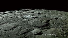 Area del polo Nord della Luna (credit: http://www.jaxa.jp)