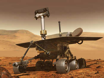 Il Rover Spirit (credit: NASA)