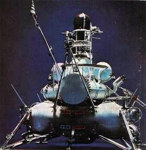La sonda sovietica Luna 15