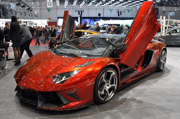 Mansory Lamborghini Aventador LP700-4