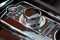 2012 Jaguar XKR-S gear selector