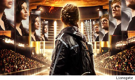 hungergames 435cs032212 The Hunger Games Victors Banner with Katniss and Peeta