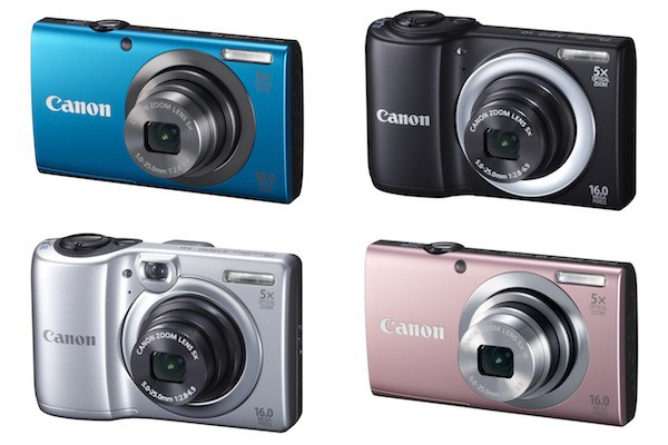 Canon unveils new PowerShot A-Series cameras