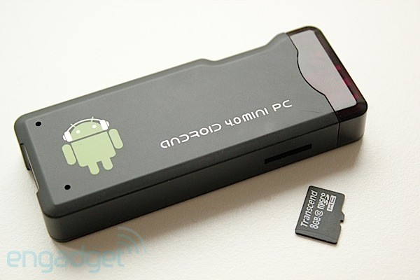 Linux lands on Android-toting MK802 mini PC